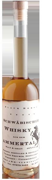 """Ammertalwhisky """"Black Horse"""" – Malt & Grain"""